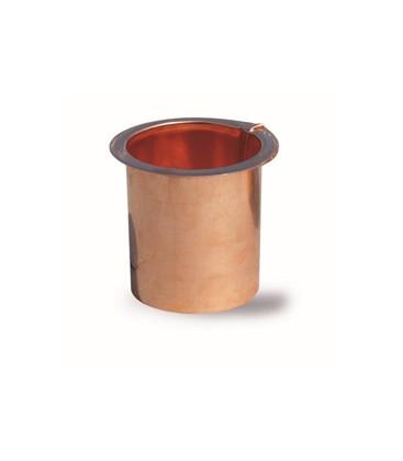 BOCCHETTA RAME PER TUBO PLUVIALE   D.60 PIANA