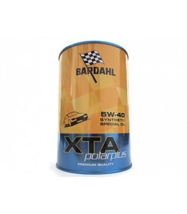 BARDAHL XTA Polarplus SAE 5W40 ACEA A3 B4 Porsche A40 Lubrificanti Olio Motore 1 LT